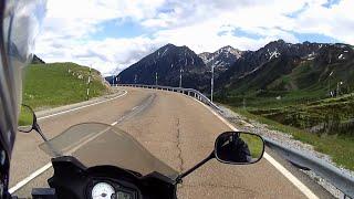 Pyrenees / Vielha - Sort - Andorra / Europe motorcycle trip part 4