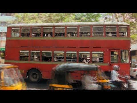 A Busy Road near Bandra Kurla Complex, Maharashtra