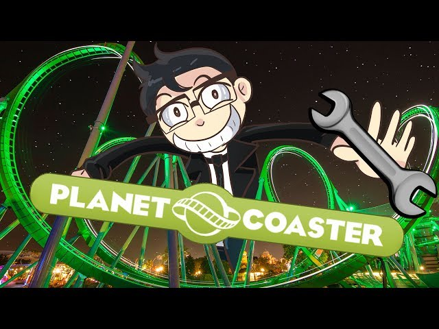 Planet Coaster   Come to my THEME PARK of Death & NOTHING