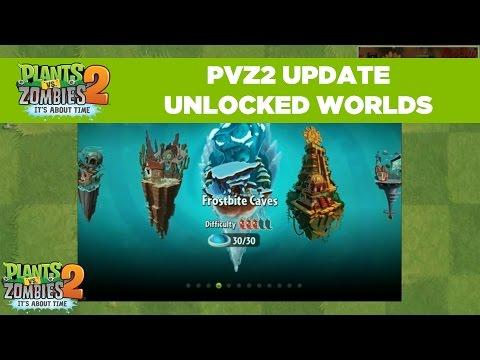 PvZ2 Unlocked Worlds | Plants vs. Zombies 2 | Live From PopCap