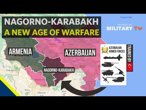 The Nagorno-Karabakh conflict is ushering in a new age of warfare