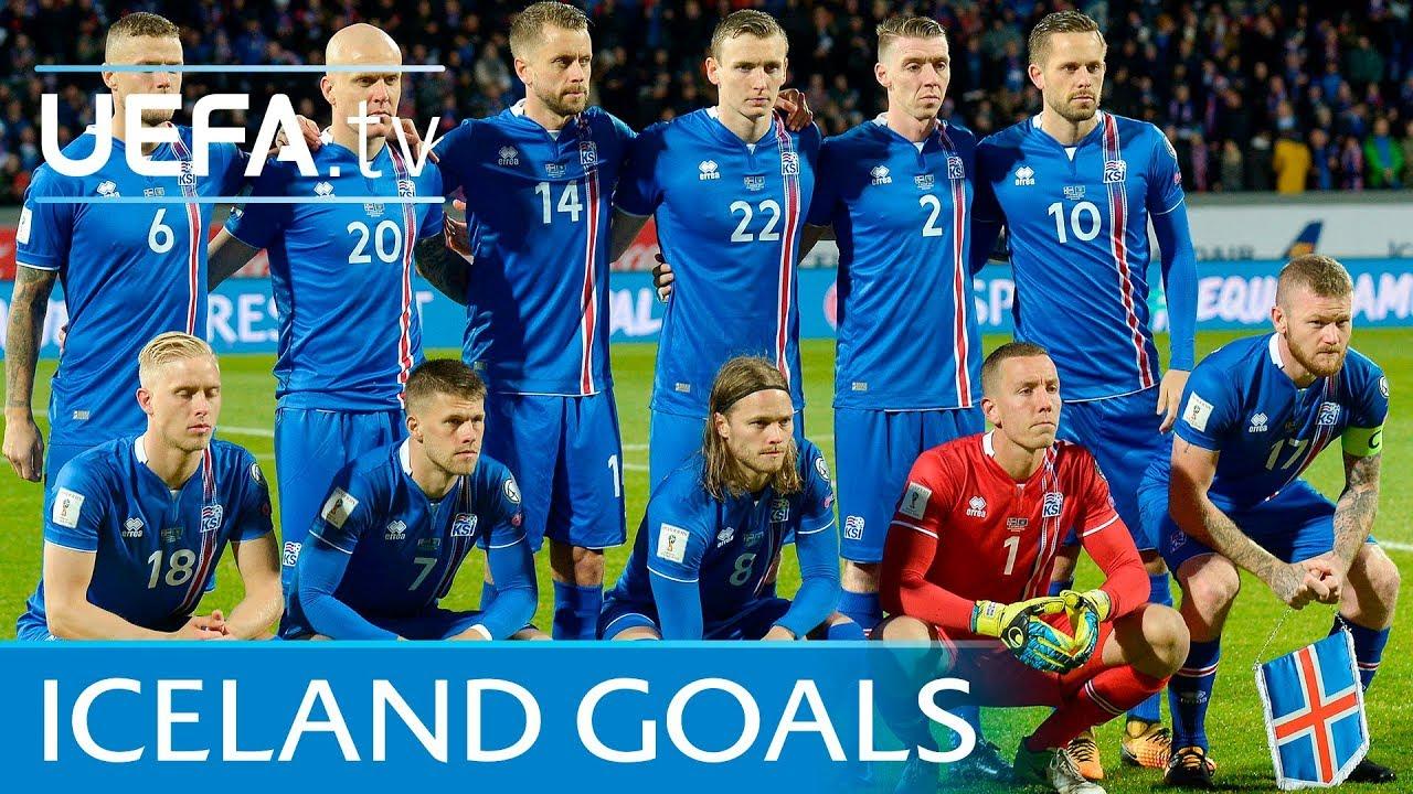 Resultado de imagem para Iceland top five European Qualifiers goals