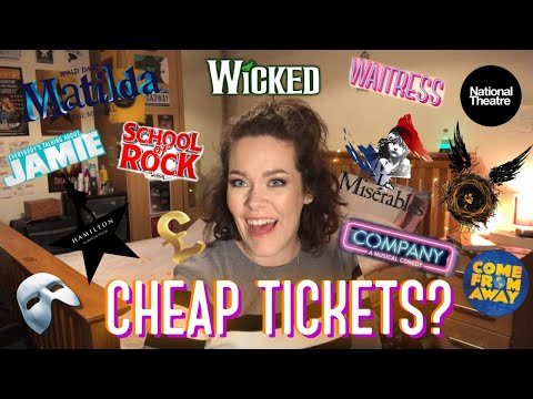 HOW I GET CHEAP THEATRE TICKETS