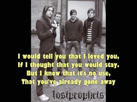 Boys Don't Cry LYRICS (Cover) - Lostprophets