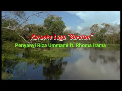 Karaoke Lagu Suratan Rhoma Irama HQ Audio & Video