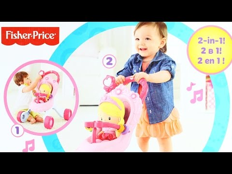 Stroll-Along Musical Walker / музыкальный троллейбус - Princess Mommy - Fisher-Price - CGN65
