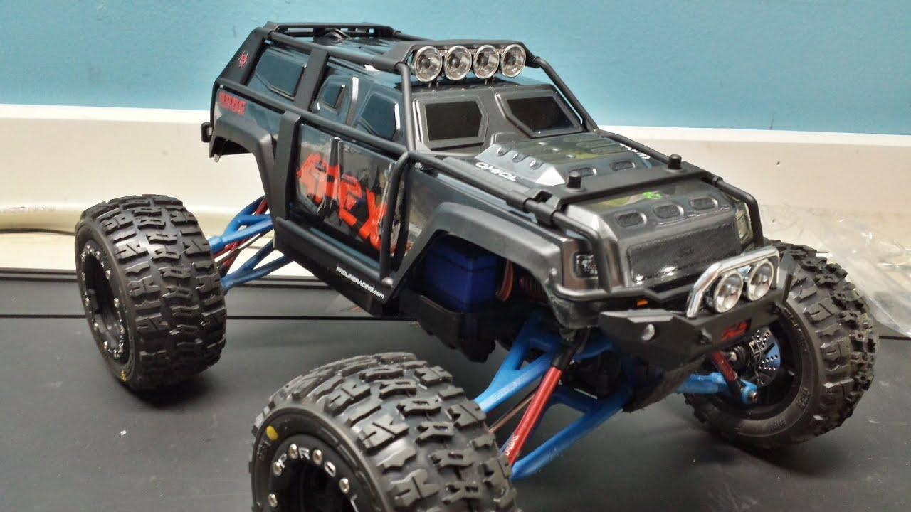 Project APEX PT7 1 16 E Revo Proline Racing Apocalypse Body Unvailing