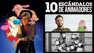 10 Escándalos de Animadores | LA ZONA CERO