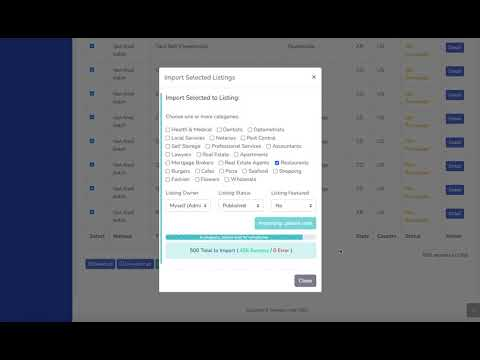 Directory Hub CSV Bulk Importer Demo