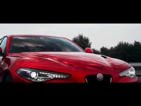 alfa romeo giulia quadrifoglio verde spot ufficiale youtube. Black Bedroom Furniture Sets. Home Design Ideas