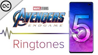 Top 5 AVENGERS ENDGAME Ringtones ! ( 4K )