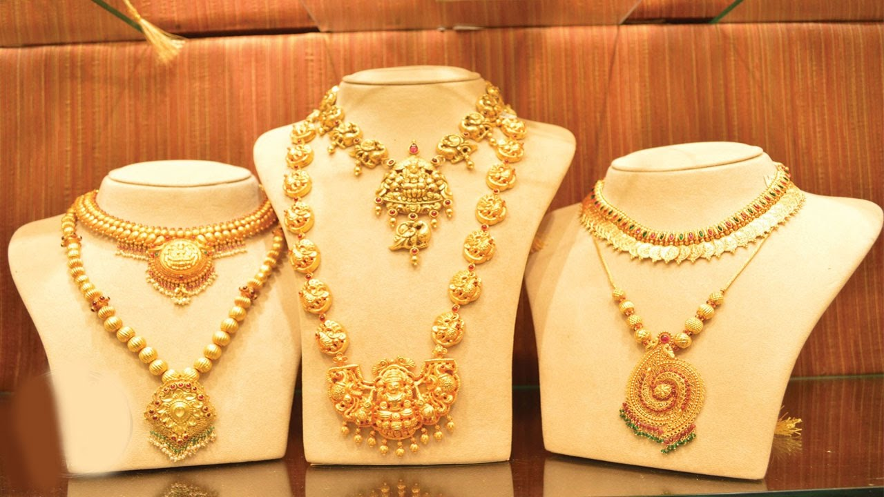 jewellery 2017 new Gold Necklace Design | Gold Necklace - YouTube