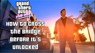 GTA: Vice City - How To Get To The Second Island Early (All Game Versions)