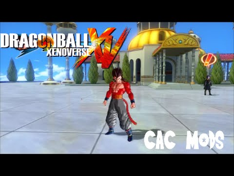 how to change aura cac xenoverse 2 mod