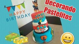 Pastel Paw Patrol ♡ Decorando Pastelitos