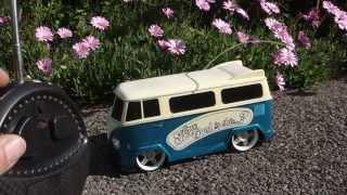 RC VW Camper Radio Controlled MP3 Dock Lights & Sound Volkswagen Dub