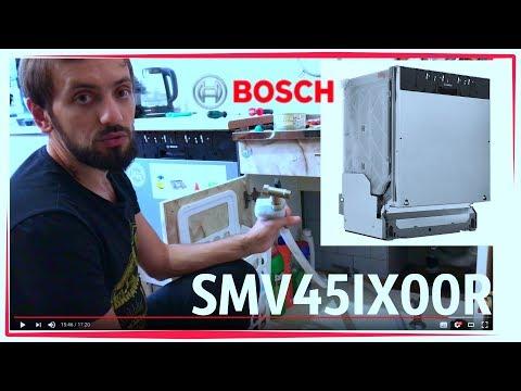 Как установить посудомоечную машину самостоятельно Bosch SMV45IX00R встраиваемая mediamarkt