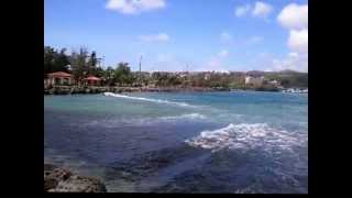 Kite Surfing at Hagatna Boat Basin Guam
