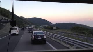 【事故迂回中】高速バス 前面展望 車窓 淡路島東浦→高速舞子/フットバス 高松1405発