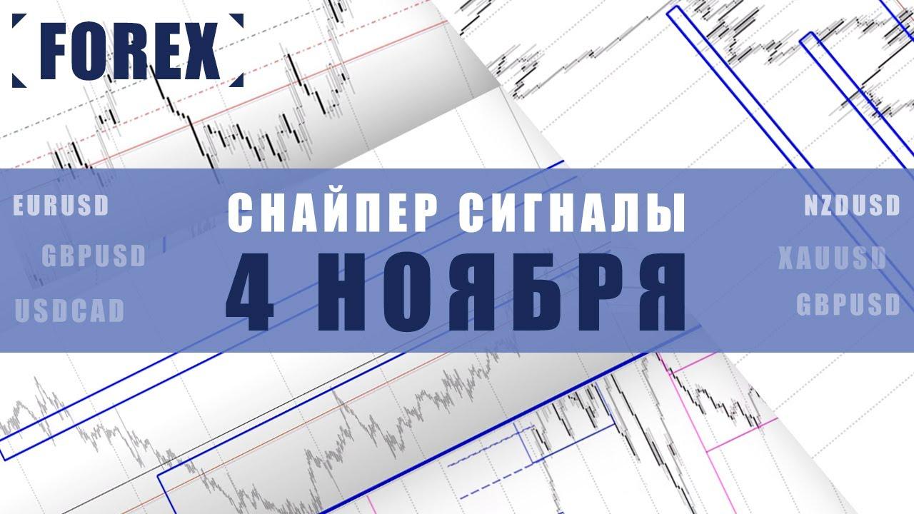 СИГНАЛЫ СНАЙПЕР НА 4 НОЯБРЯ  | Трейдер Антон Ганн
