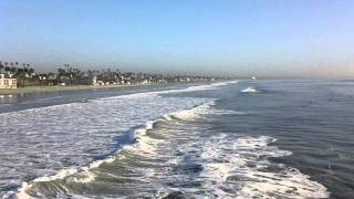 Oceanside California surf showing Rip Current 00025 リップカレント 瑞普电流