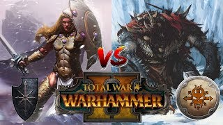 Norsca vs Chaos | THROGG & SIGVALD ROUND 2 - Total War Warhammer 2