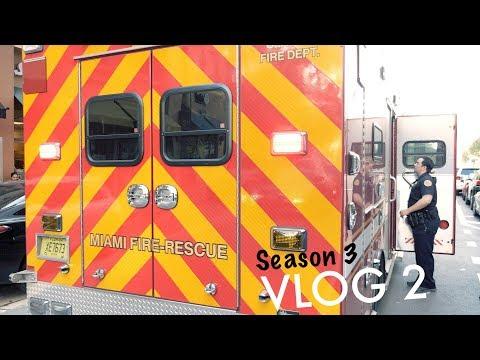 Miami Police VLOG: Brickell P.S.T... Pedestrian hit.