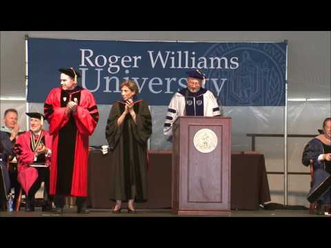Roger Williams University Commencement May 14, 2016