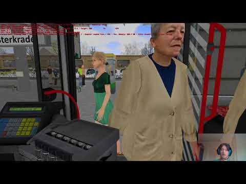 [Christmas] Len Diesel: Let's Play OMSI 2 - Metropole Ruhr, Route 979, with MAN A21 Lion's City