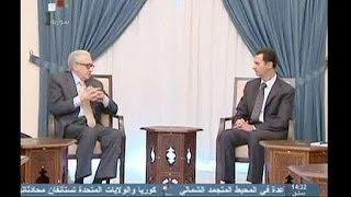 Сирия: Асад и Брахими провели переговоры