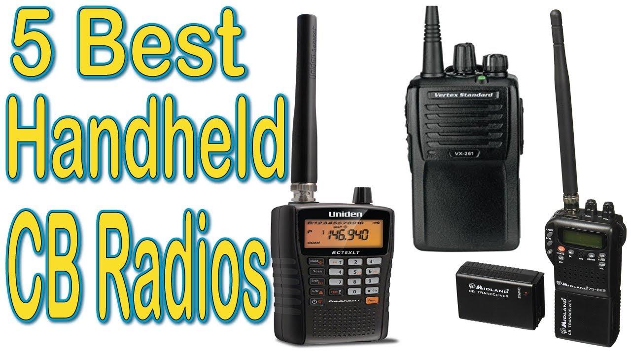 5 Best Handheld CB Radios of 2019 | Handheld CB Radios Reviews