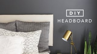 DIY Building a Headboard