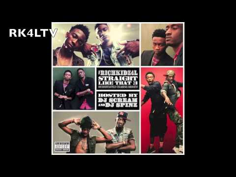 Rich Kidz - Live from the Booth Pt. 2 - Prod. By Santell - STRAIGHT LIKE THAT 3 #CCM