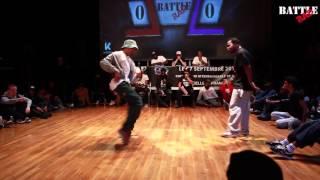 Battle BAD 2015 - GONZY vs KOSNI - HIP-HOP TOP 16