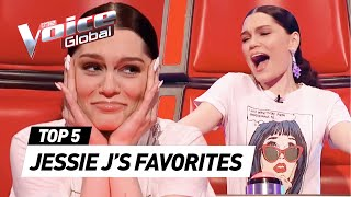 JESSIE J'S FAVORITE Blind Auditions on The Voice Kids UK