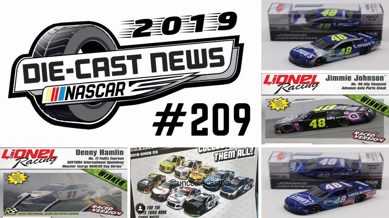 Nascar Die Cast News 209 Nascar Authentics 2019 Wave 3 Leaked Youtube