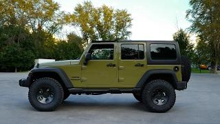 jeep Wrangler JK. Краткий отзыв, возможности и история владения