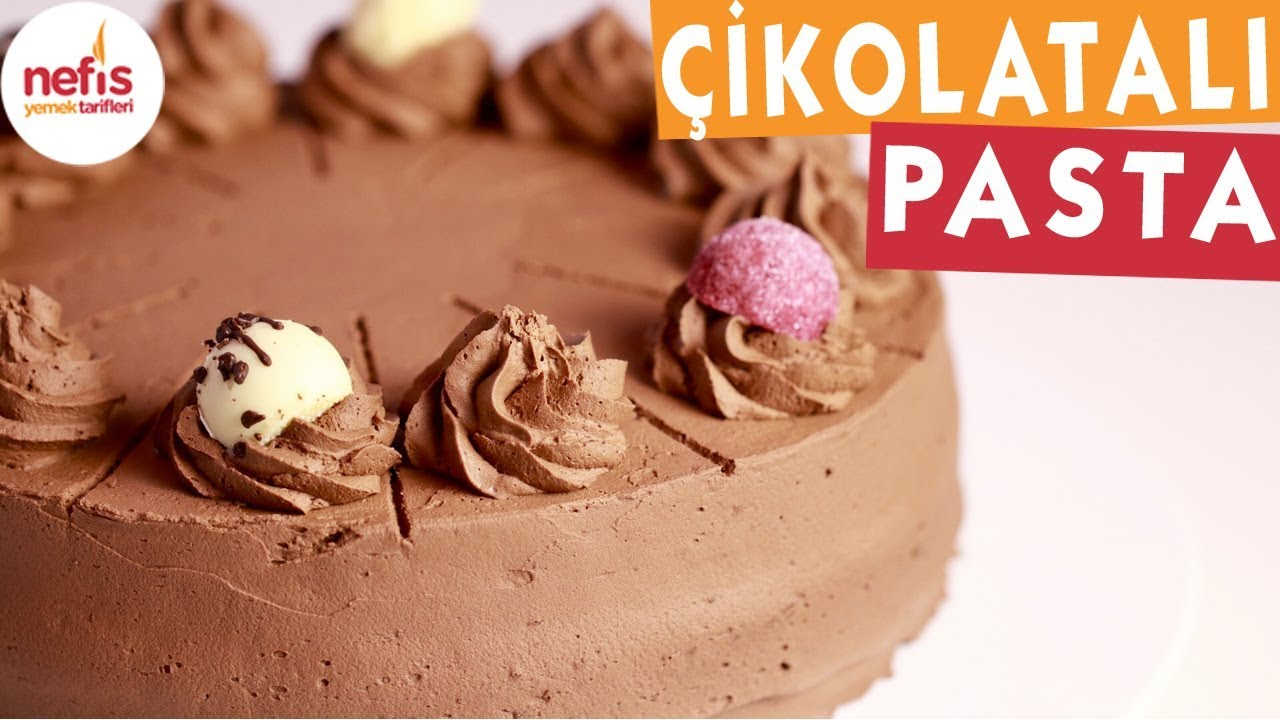Çikolatalı Pasta - Pasta Tarifleri - Nefis Yemek Tarifleri