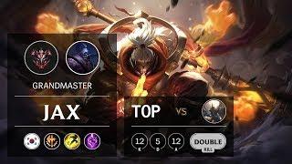 Jax Top vs Pantheon - KR Grandmaster Patch 9.24