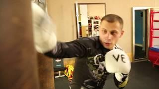 Как научиться боксировать дома - ТРЕНИРОВКА ПО БОКСУ 5 минут