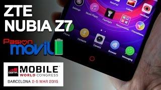 ZTE Nubia Z7 en el Mobile World Congress 2015!
