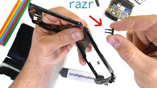 2020 Moto Razr Teardown! - Better Hinge than the Z Flip?