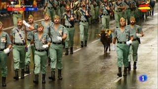 Desfile Fuerzas Armadas Dia Fiesta Nacional 12 Octubre 2016