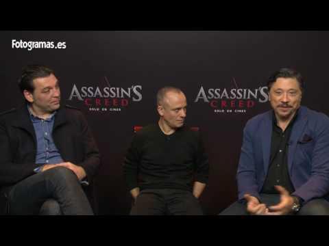 'Assassin's Creed': Entrevistamos a Javier Gutiérrez, Carlos Bardem y Hovik Keuchkerian