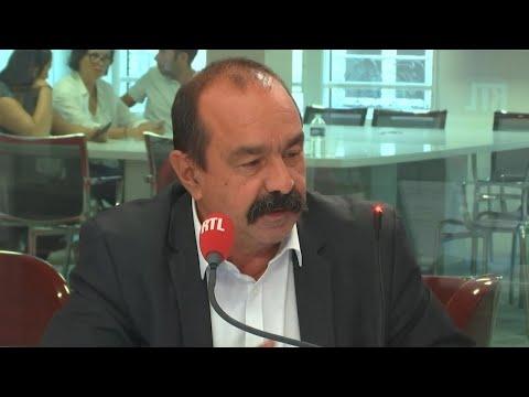 Philippe Martinez : L'Invité de RTL Soir du 29 août 2018