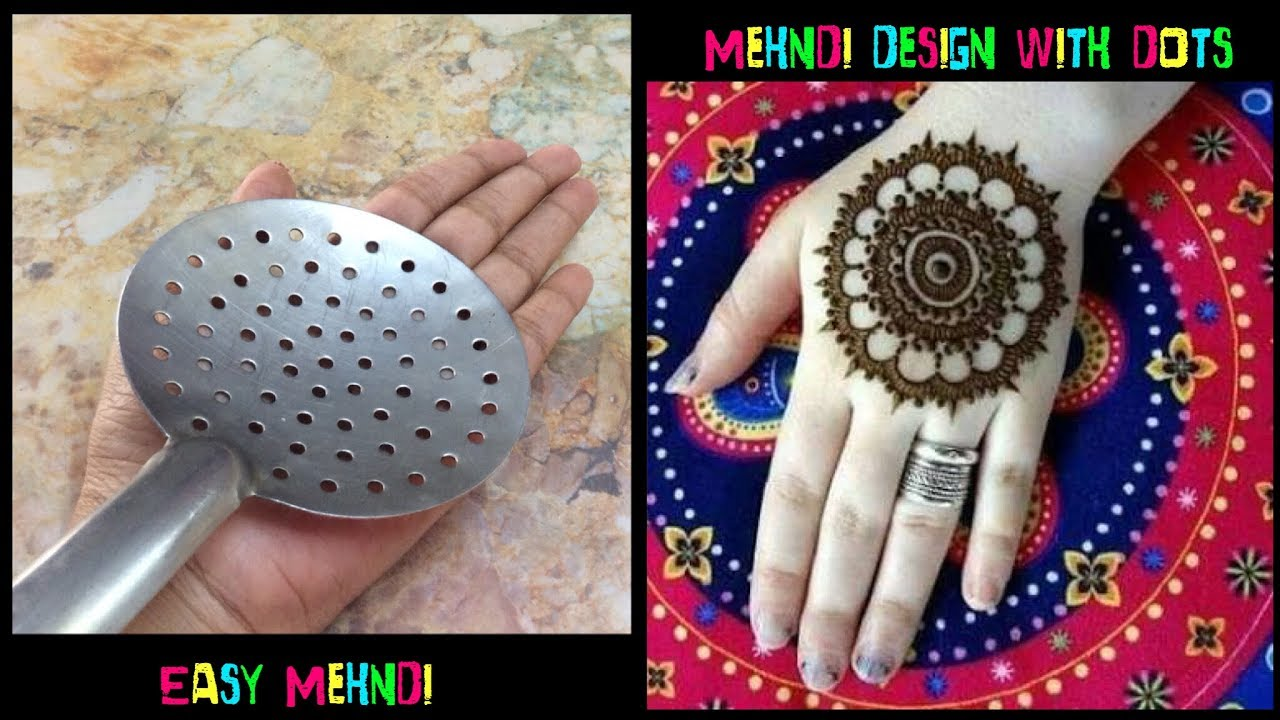 Image result for New mehndi design with dots | Easy Mehndi designs | latest mehndi design Indian Beauty Queen