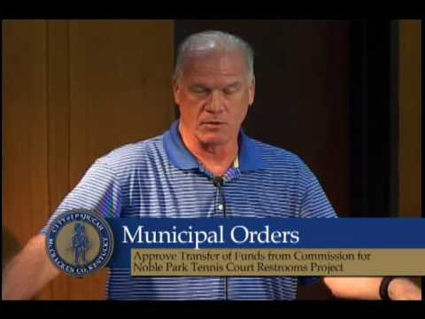 Paducah City Commission Meeting, September 13, 2016
