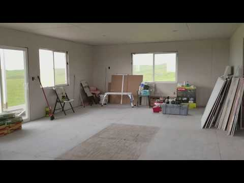 Solar Powered Off Grid Home Almost Done Looks Like A House Now