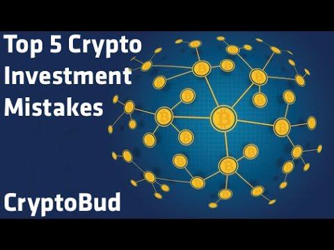 """Top 5 Crypto Investment Mistakes"" - CryptoBud"