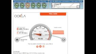 Test débit fibre Orange